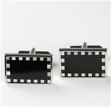 Onyx and Motherpearl Cufflinks
