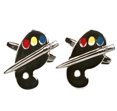 Paddle Painter Cufflinks
