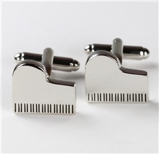 Piano Metal Cufflinks