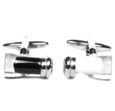 Salt and Pepper Cufflinks