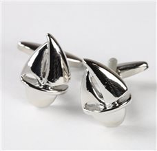 Sailboat Metal Cufflinks