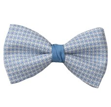 Blue Sky Bow Tie with Design
