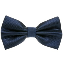 Dark Blue Dress Bow Tie
