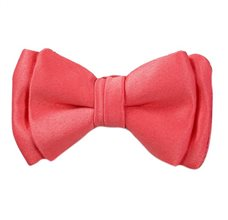 Coral Baby's Bow Tie