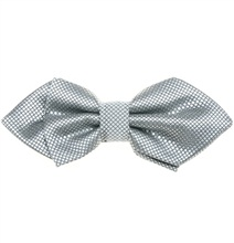 Light Grey Bogart Bow Tie