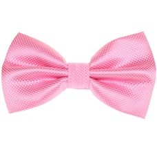 Pink Dress Bow Tie