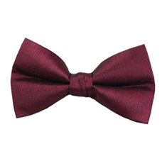 Burgundy Bow Tie Marbled