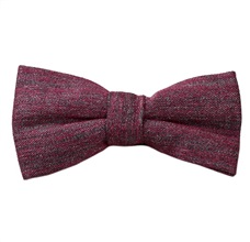 Magenta Bow Tie Marbled