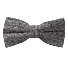Grey and Brown Marbled Bow Tie