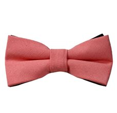 Living Coral Bow Tie