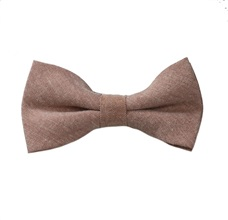 Brown Boy's Bow Tie