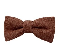 Brown Camel Boy's Bow Tie