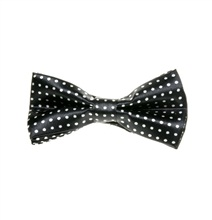 Black Boy's Bow Tie with Dots