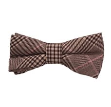 Prince of Wales Brown Boy's Bow Tie