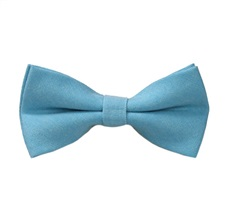 Turquoise Blue Boy's Bow Tie