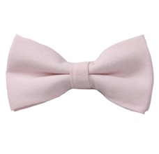 Light Pink Bow Tie