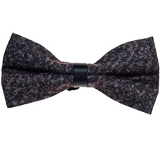 Mink Color Bow Tie Spike Woven