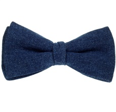 Blue Jeans Bow Tie