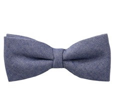Jeans Blue Bow Tie