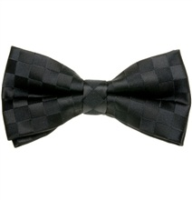 Black Dress Bow Tie