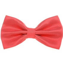 Red Coral Dress Bow Tie