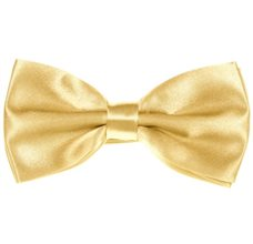 Yellow Bow Tie and Pocket Square