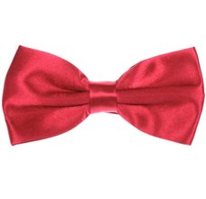 Red Strawberry Bow Tie and Pocket Square