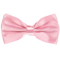 Pink Bow Tie and Pocket Square