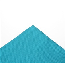 Dark Turquoise Pocket Square