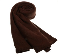 Deep Brown Cashmere Pashmina