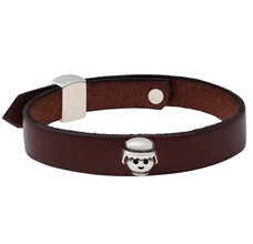 Playmobil Leather Bob Bracelet