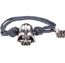 Pulsera Star Wars Darth Vader Gris