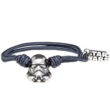 Pulsera Star Wars Trooper Gris