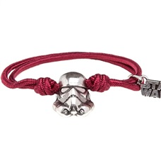 Pulsera Star Wars Trooper Roja