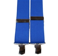 Royal Blue Elastic Braces
