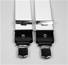 White Elastic Braces