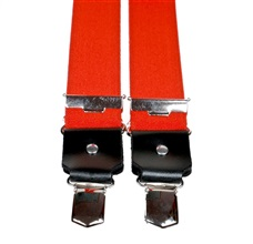 Orange Elastic Braces