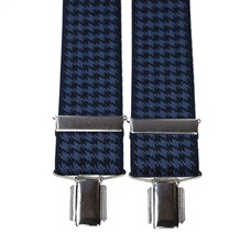 Navy Blue and Blue 'Crows Feet' Elastic Braces