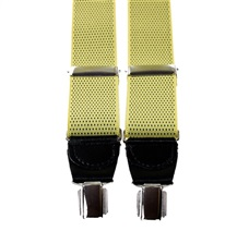 Yellow with Black Dots Elastic Braces