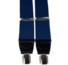 Navy Blue Elastic Braces