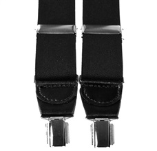 Black Elastic Braces