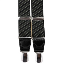 Dark Blue and Dark Green Stripes Elastic Braces