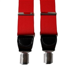 Red Elastic Braces