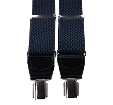 Dark Blue Rhombus Elastic Braces