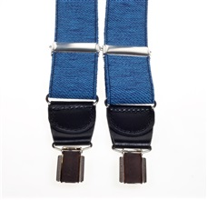 Denim Elastic Braces