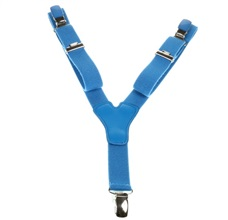 Boy's Royal Blue Elastic Braces