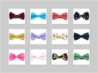 Pattern Bow Ties