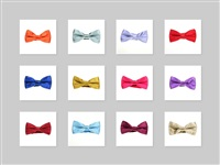 Plain Boy Bow Ties